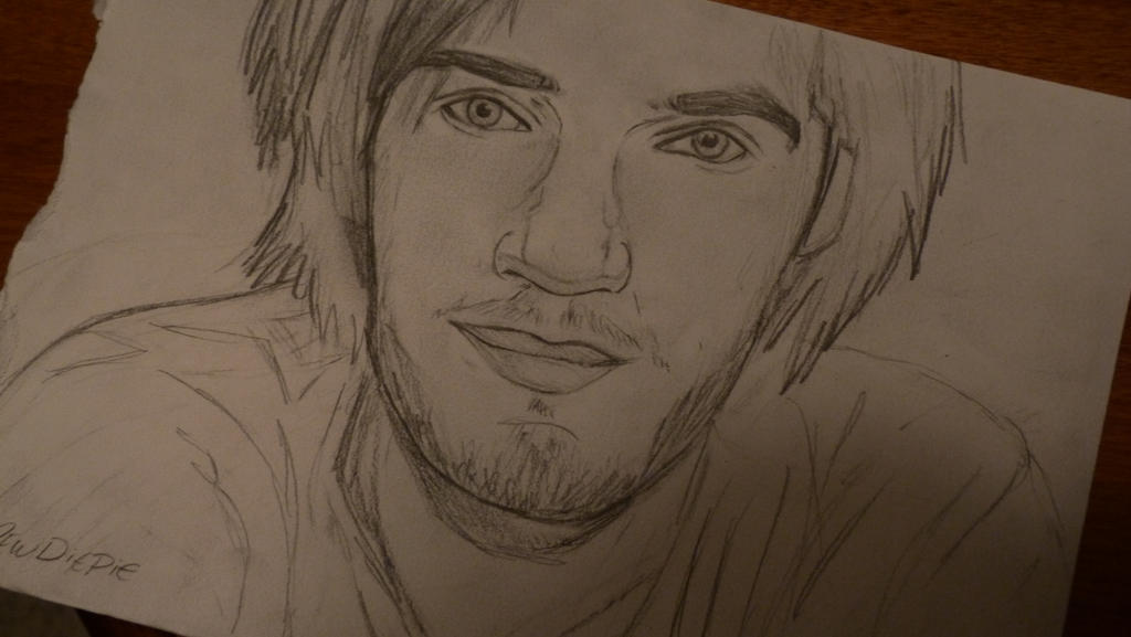 Pewdiepie WIP by gilly15