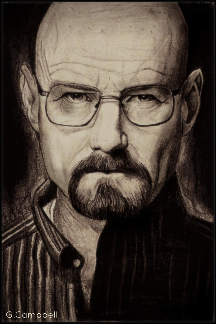 Walter White-Breaking Bad by gilly15