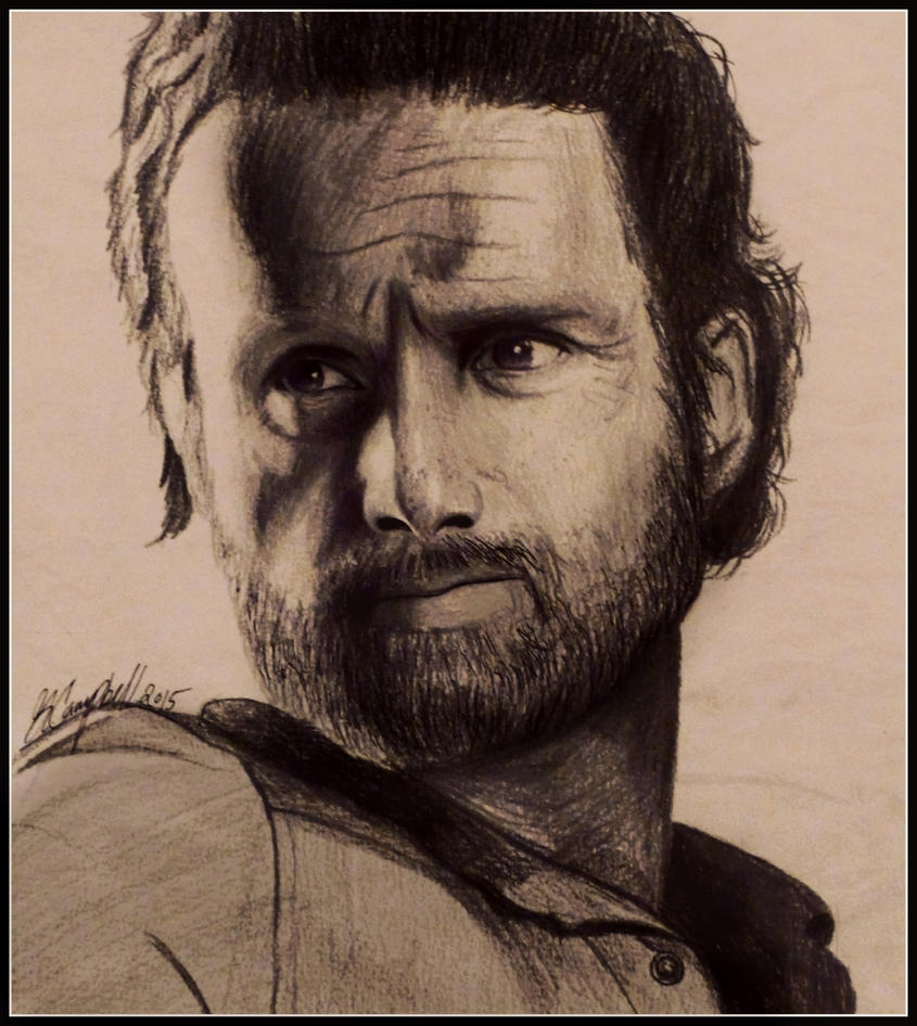 Rick Grimes- The Walking Dead by gilly15