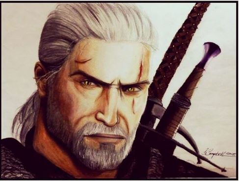 Geralt-The Witcher 3 by gilly15