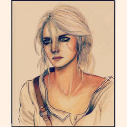 Ciri-The Witcher 3 by gilly15