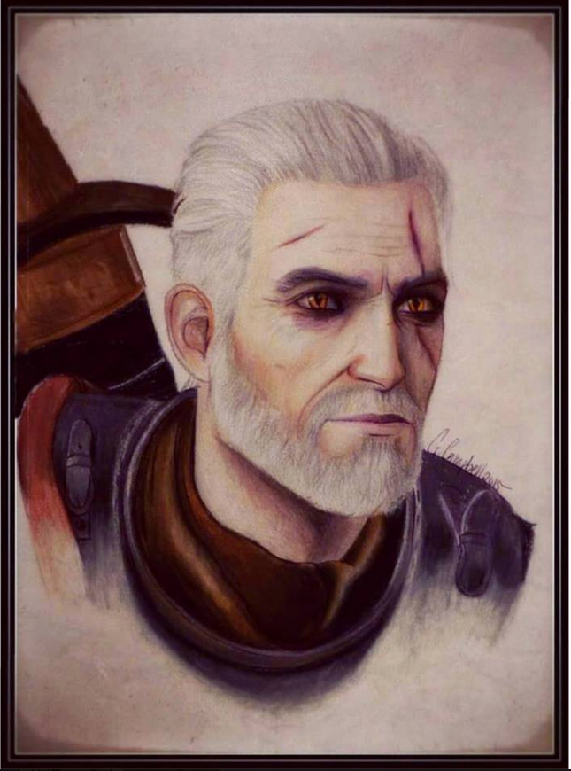 Geralt of Rivia by gilly15