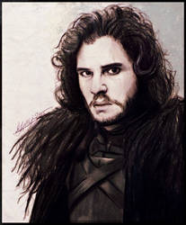 Jon Snow-Game of Thrones by gilly15