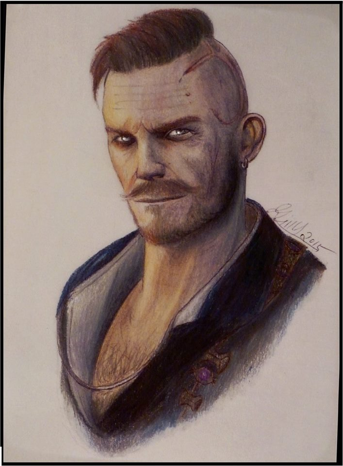 Olgierd von Evrec-The Witcher 3 by gilly15