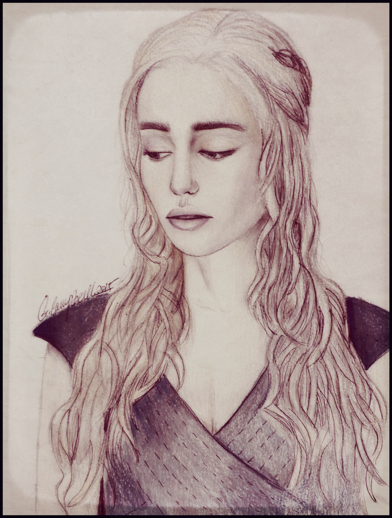 Mother of Dragons-game of thrones by gilly15