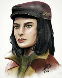 Piper Wright-Fallout 4 by gilly15