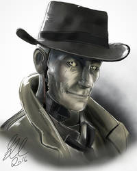 Nick Valentine-Fallout 4 by gilly15
