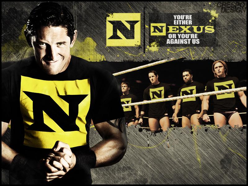 wwe nexus 3d n logo black short sleeve t shirt for