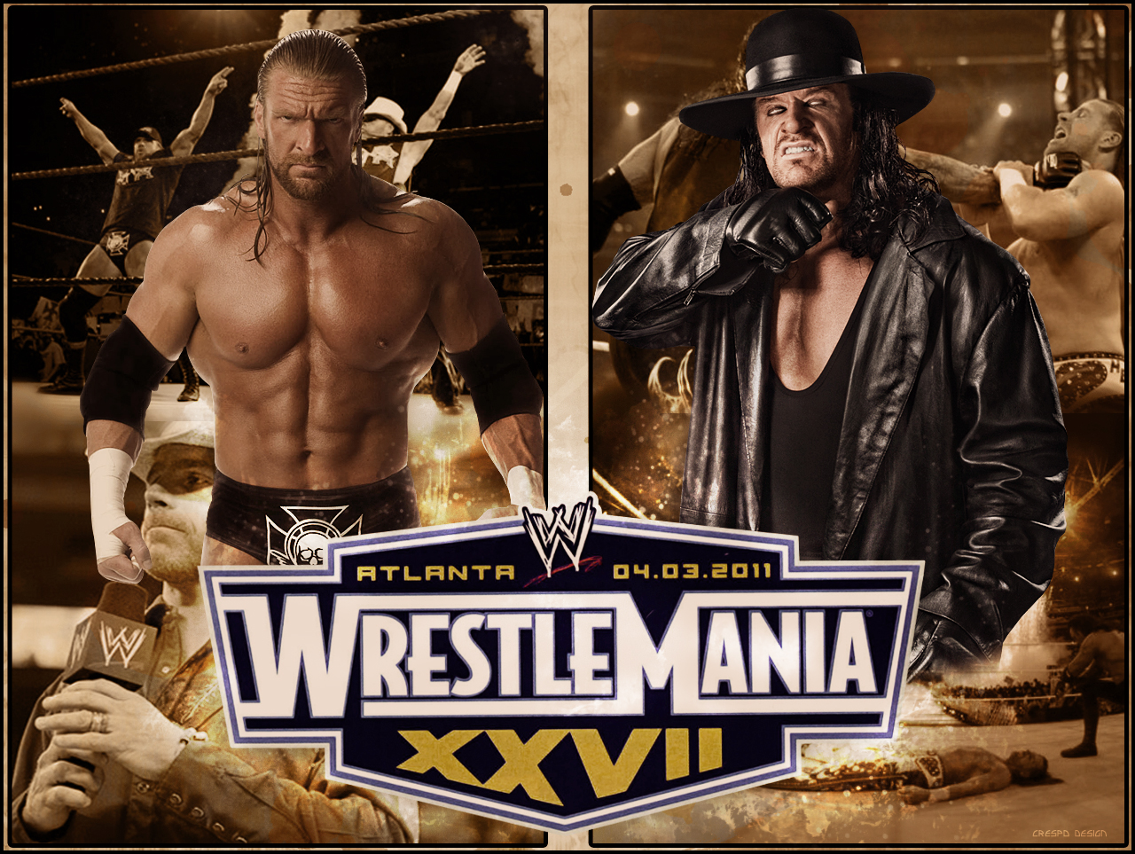 Triple H vs Undertaker WM by Cre5po