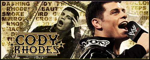 Cody Rhodes Signature by Cre5po on DeviantArt