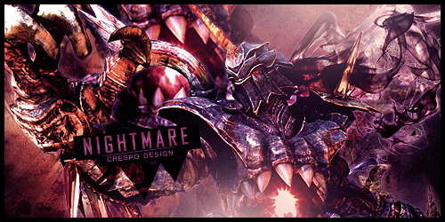 Nightmare Banner by Cre5po