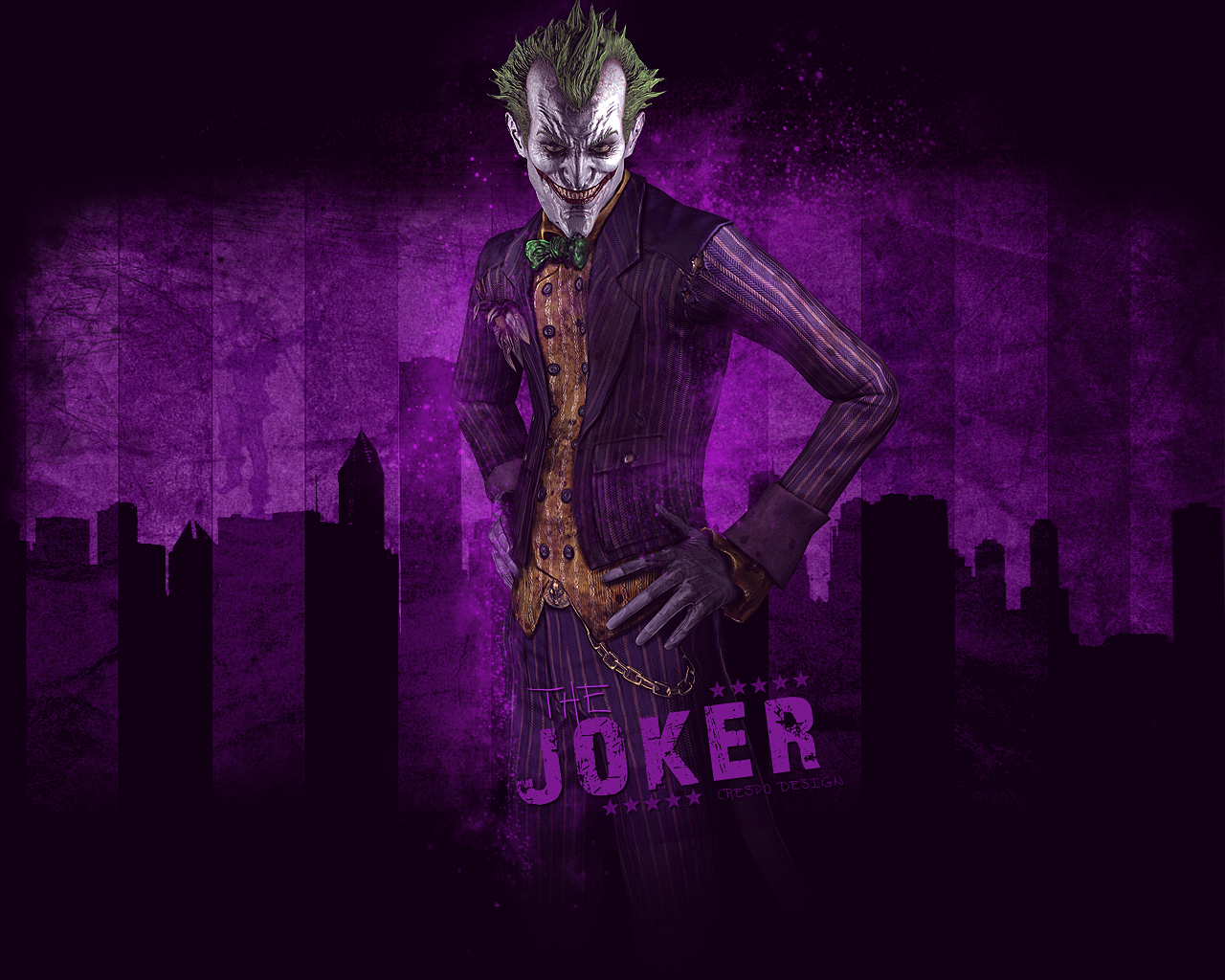 Joker Wallpaper by Cre5po on DeviantArt