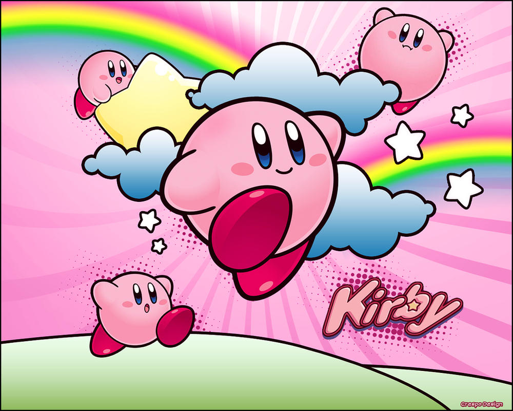 Kirby wallpaper by cre5po on deviantart kirby wallpaper by cre5po voltagebd Image collections