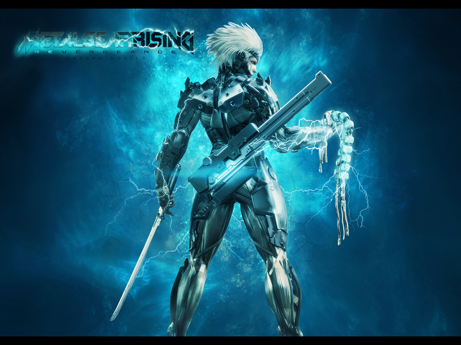 metal gear rising revengeance wallpaper by cre5po on