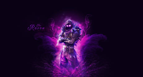Fortnite Raven Wallpaper by Cre5po