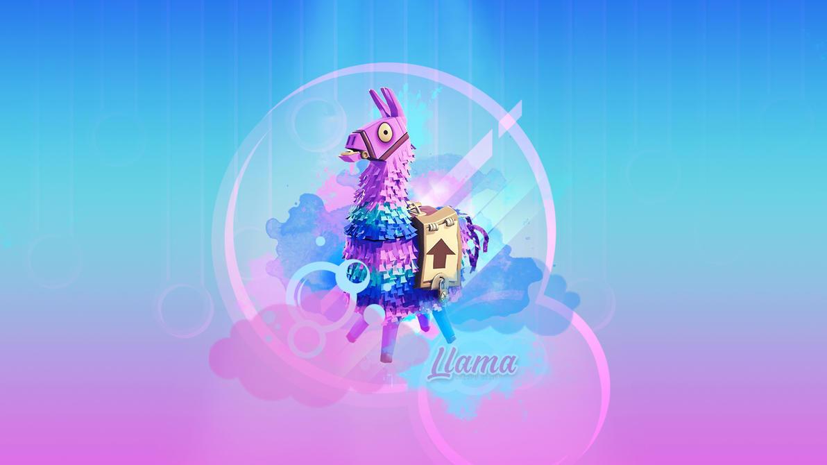 Llama Wallpaper By Cre5po