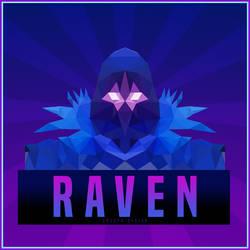 Fortnite Raven Low Poly Icon