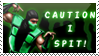 Caution I Spit by snow-valkyrie