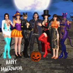 Happy Halloween by NeroBlueRoseSparda