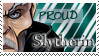 Slytherin Stamp by OtterAndTerrier