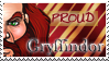 Gryffindor Stamp by OtterAndTerrier