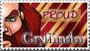 Gryffindor Stamp by OtterAndTerrier