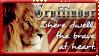 Gryffindor Stamp- go lions1 by OtterAndTerrier