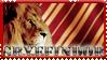 Gryffindor stamp-- go lions2 by OtterAndTerrier