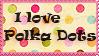 Stamp: Polka Dots by OtterAndTerrier