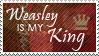Stamp: Weasley is my King by OtterAndTerrier