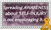Stamp: Self-Injury Awareness 1