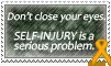 Stamp: Self-Injury Awareness 2 by OtterAndTerrier