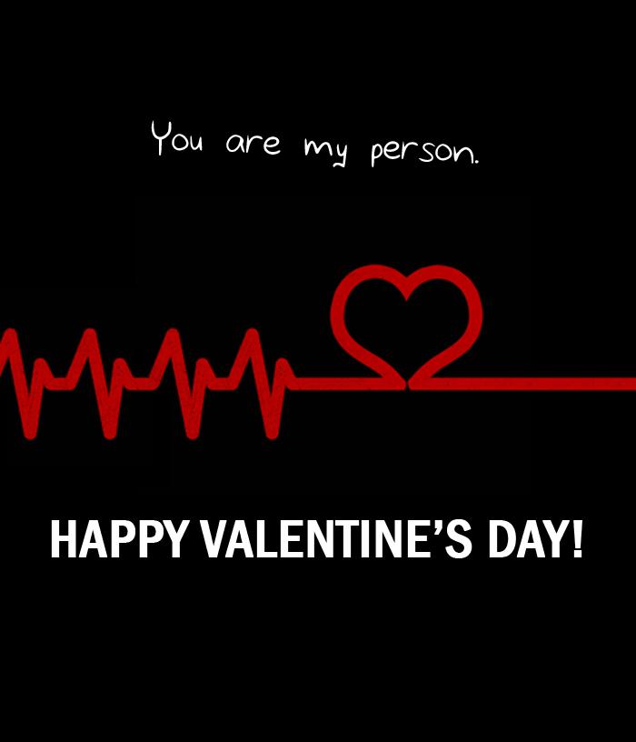 Grey's Anatomy Valentine's Card - 2 by OtterAndTerrier