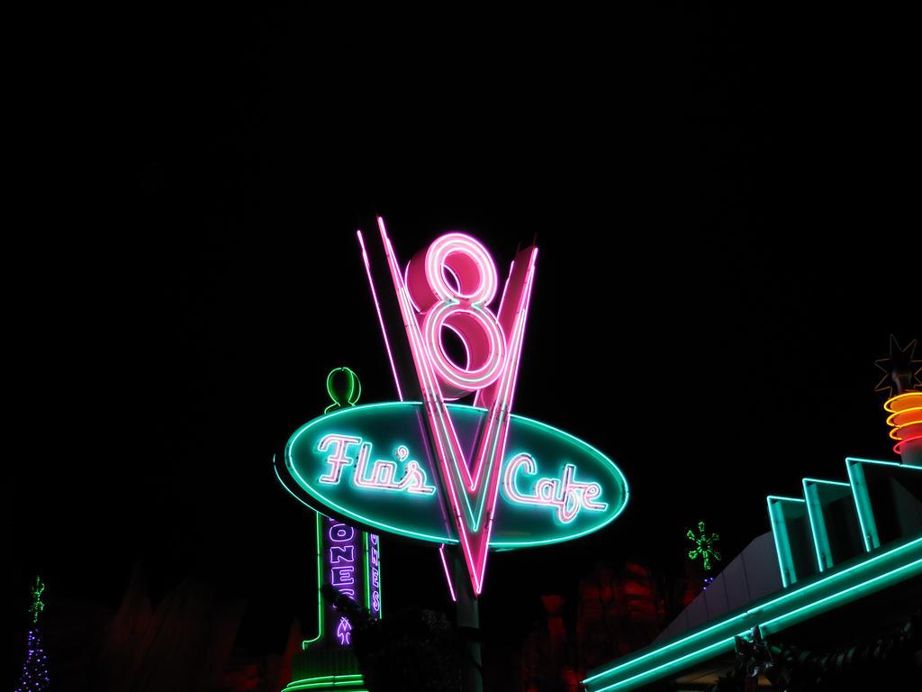 Flo S V Cafe Sign