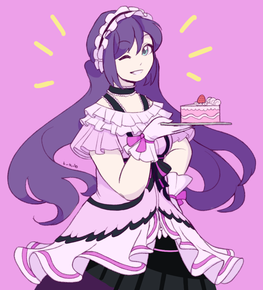 Nozomi's Bday by Thoughts-and-Bubbles