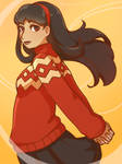 Concept Art Yukiko by Thoughts-and-Bubbles
