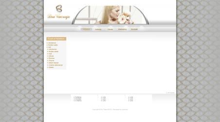 Dan Vencanja web site screenshot