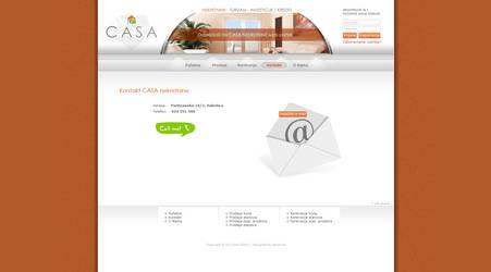 CASA nekretnine web site design