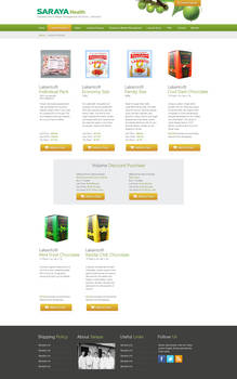 Saraya Health and Diabetes Product Page
