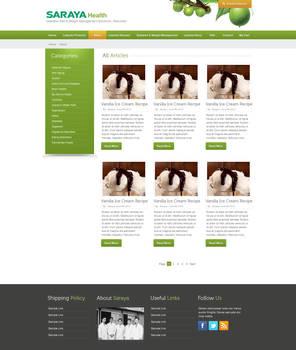 Saraya Health and Diabetes Blog Page