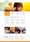 Pixelio - Responsive Portfolio Theme