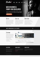 Pixelon - Clean Responsive Portfolio Template by faizalqurni