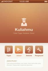 Kuliahmu App   Menu Design