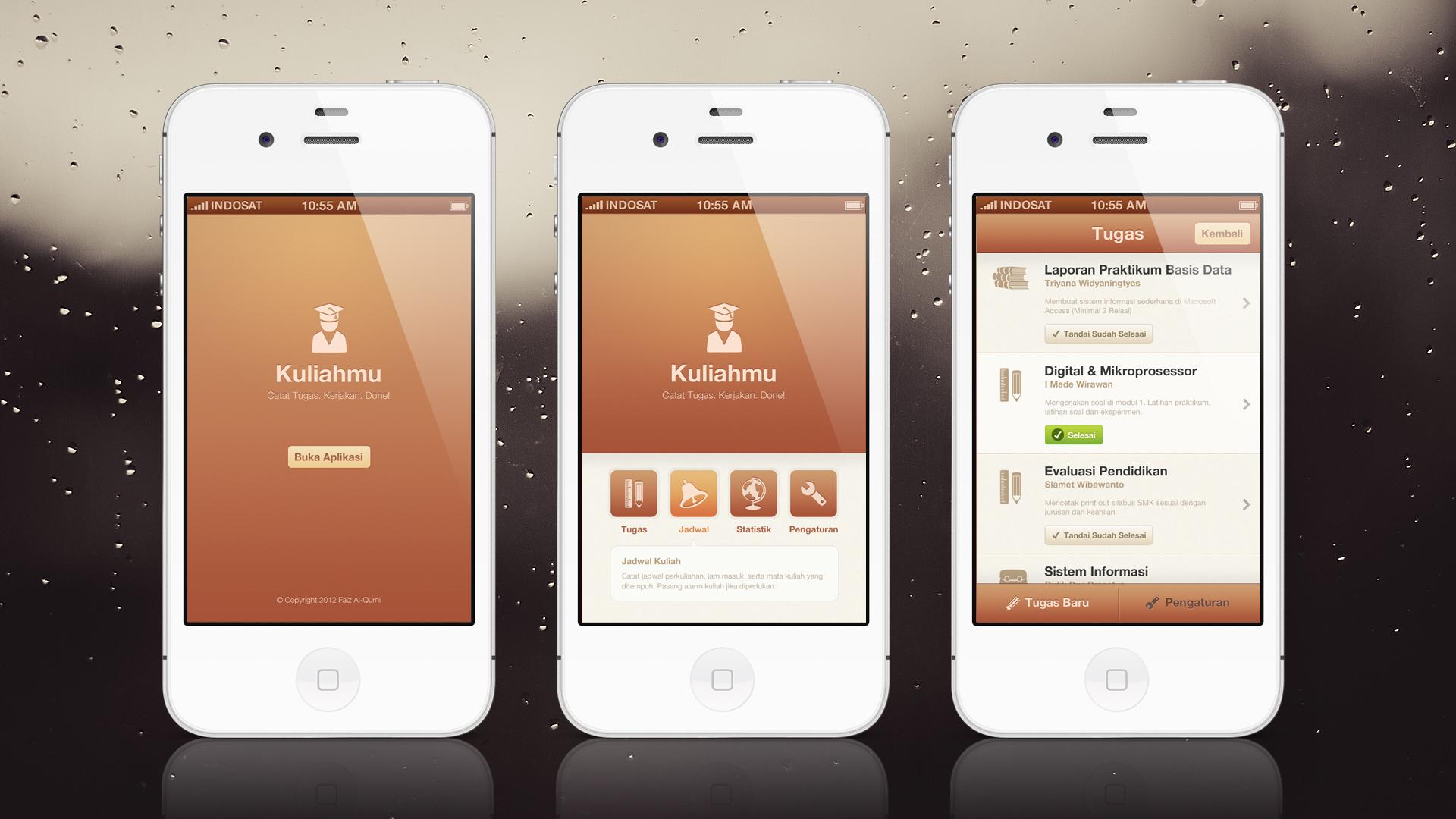 Kuliahmu App   Mobile UI/UX Design by faizalqurni
