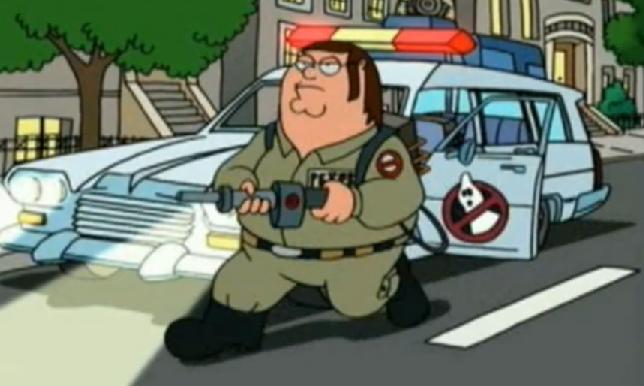 Family Guy Ghostbuster...