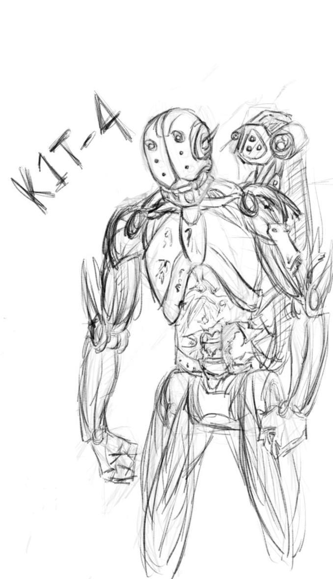 K1T-4 speedpaint1 by EvilNotIncluded