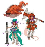 Monster Hunter Fan Art by Nerd-Scribbles
