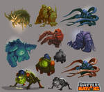Battle Nations Infected concepts