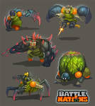 Battle Nations Infected Concepts 2013