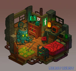 Robot Quest Player Room